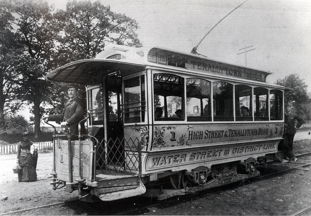 Alfa img - Showing > Trolly in 1900